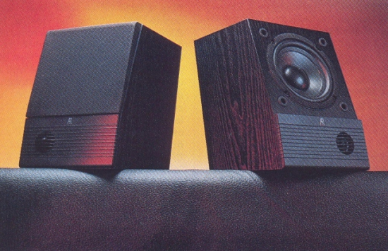 Acoustic Research M5 Bookshelf Speakers Photo