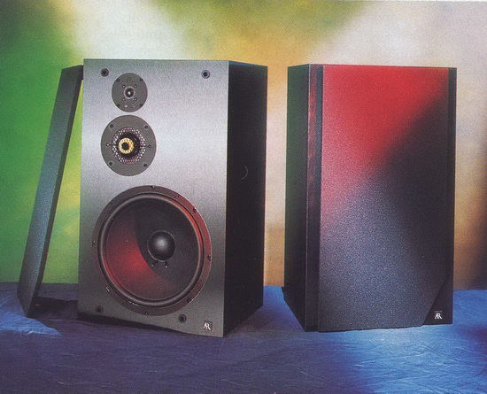 Acoustic Research AR 303 Bookshelf Speakers Photo