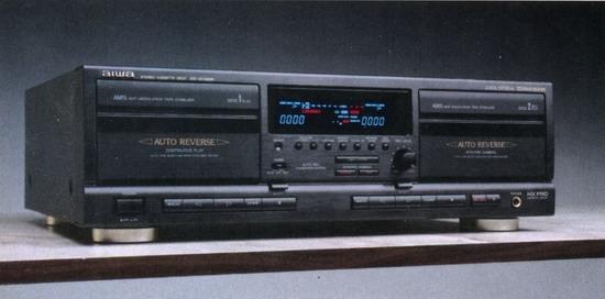 Aiwa Cassette Player Aiwa Ad-wx828 Cassette Deck