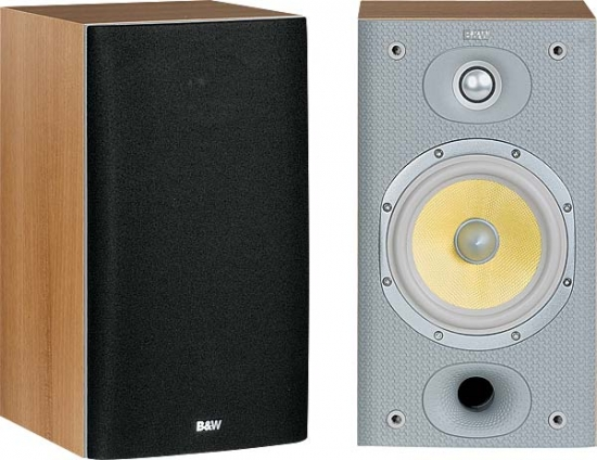 BW DM601 S3 Bookshelf Speakers Photo