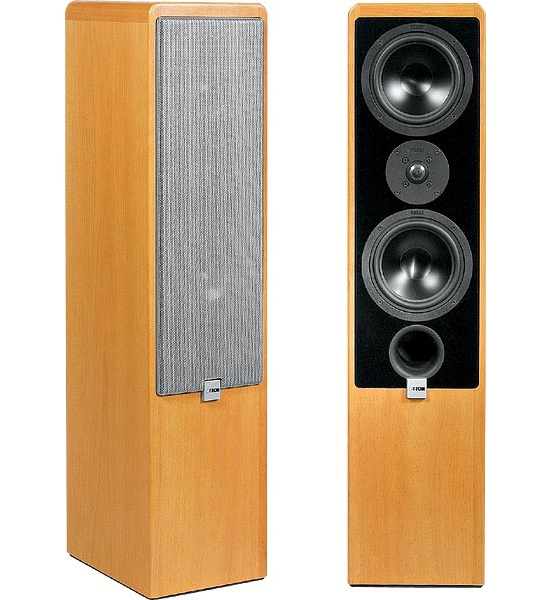 Floor standing speakers Canton Ergo 702DC review and test