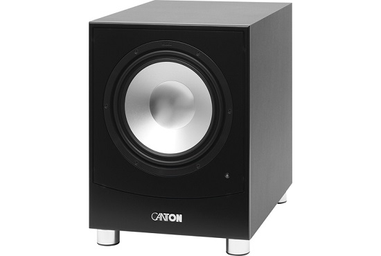 canton sub 10 subwoofer review and test. Black Bedroom Furniture Sets. Home Design Ideas