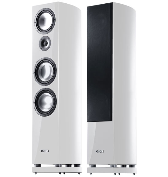 Floor standing speakers Canton Vento 890 DC review and test