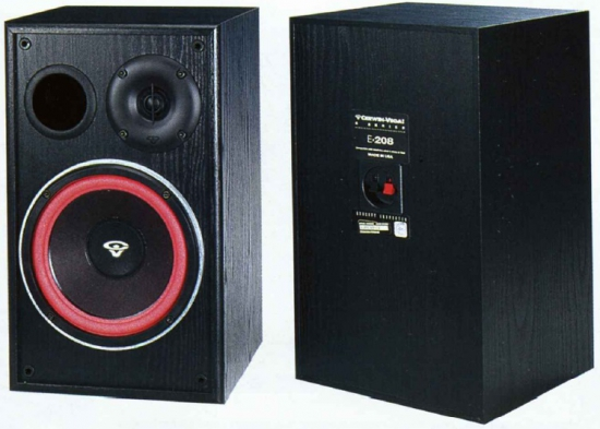 Cerwin Vega Bookshelf Speakers Cerwin-vega E-208 Bookshelf