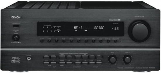 Denon AVR-3600 AV-receiver photo