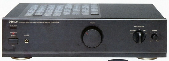 Denon PMA-350SE Integrated Stereo Amplifier, Power output 80 Watts into 8 ohms