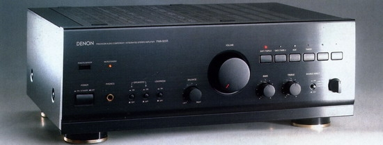 Denon PMA-925R Integrated Stereo Amplifier, Power output 80 Watts into 8 ohms