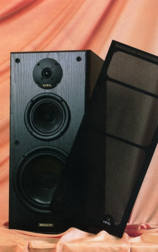 infinity reference. infinity reference 41i floor standing speakers photo