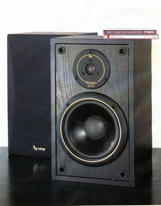 Infinity Sm 65 Bookshelf Speakers Review And Test