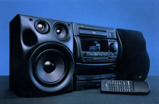 mini stereo system jvc mx d3s review and test. Black Bedroom Furniture Sets. Home Design Ideas