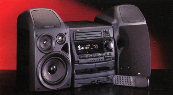 jvc mx d5t mini stereo system review and test. Black Bedroom Furniture Sets. Home Design Ideas