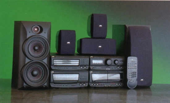 jvc mx d8t mini stereo system review and test. Black Bedroom Furniture Sets. Home Design Ideas