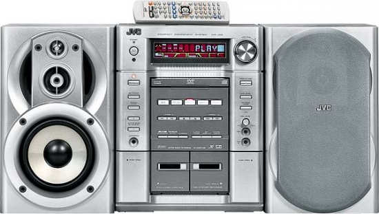 mini stereo system jvc mx jd3 review and test. Black Bedroom Furniture Sets. Home Design Ideas