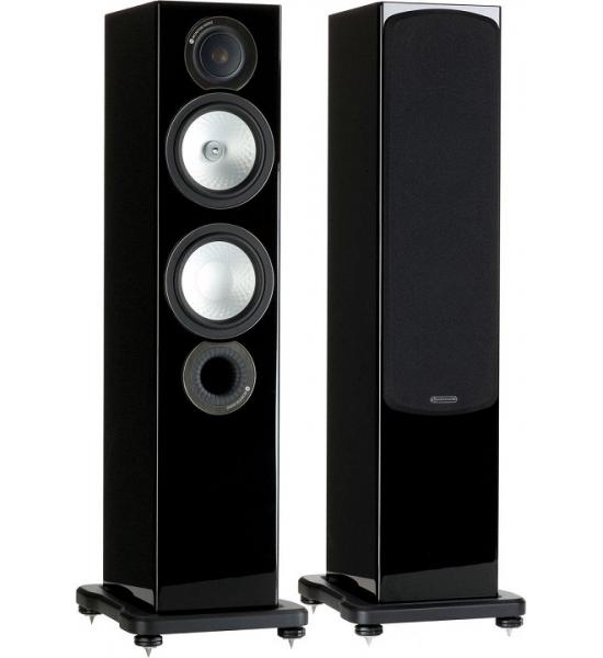 monitor audio speakers silver 6