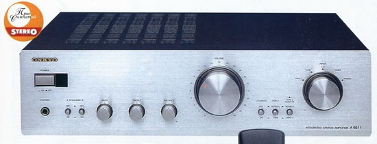 Onkyo A-9211 Amplifier review and test
