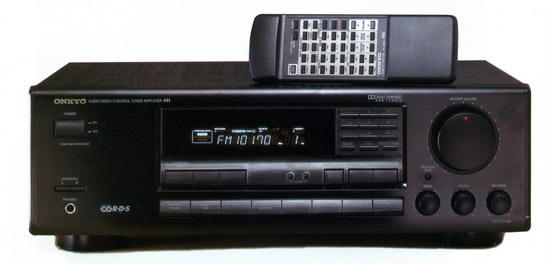AV-receiver Onkyo TX-SV434 review and test on