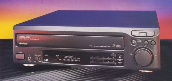 Panasonic LX-H170 Laserdisc player photo