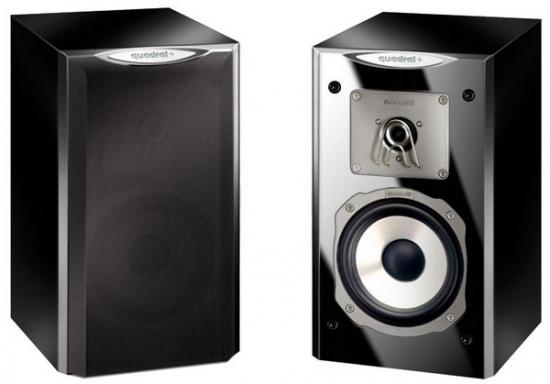 Quadral Platinum M2 Bookshelf speakers review and test