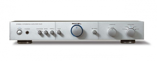 Rotel RA-01 Amplifier review and test