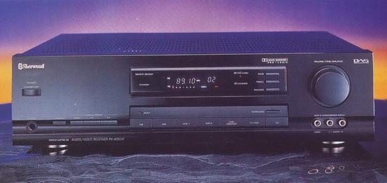 Sherwood RV-4050R AV-receiver review, test, price