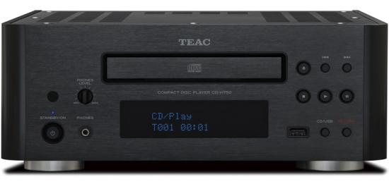 cd player teac cd h750 review and test. Black Bedroom Furniture Sets. Home Design Ideas