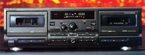 Cassette Deck Technics Rs Tr575 Review And Test
