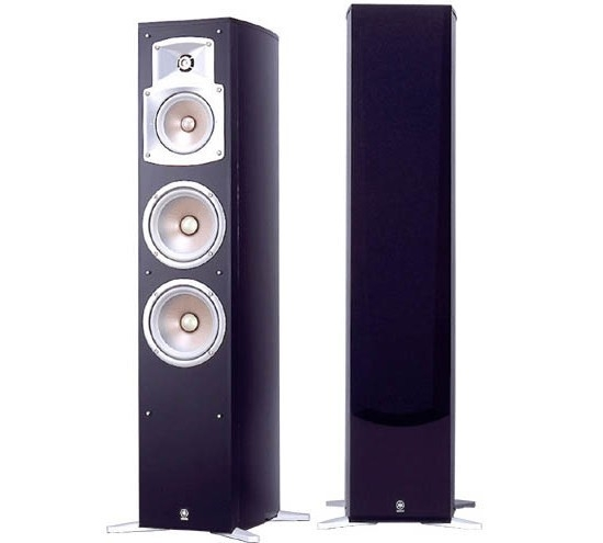 yamaha ns 555 floor standing speakers review and test