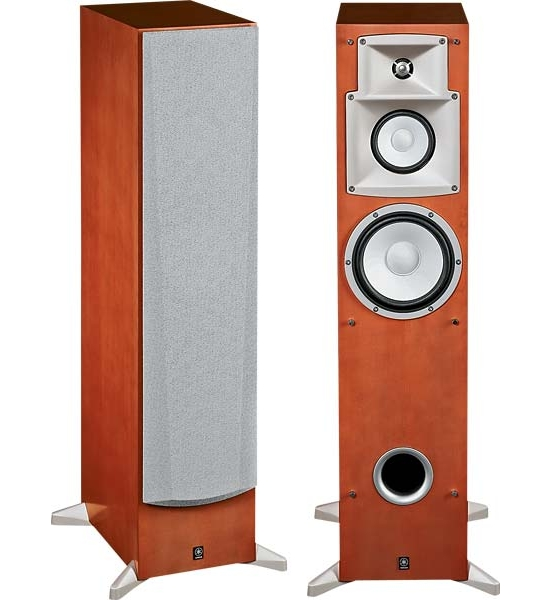 floor standing speakers yamaha ns 6hx review and test. Black Bedroom Furniture Sets. Home Design Ideas