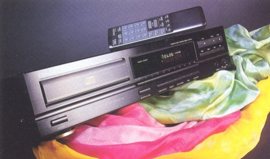 Denon DCD-580 CD-player photo