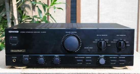 Kenwood KA-5010 Integrated amplifier, Power output 85 Watts into 8 ohms