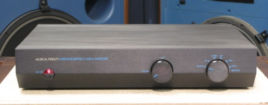 Musical Fidelity A200 Amplifier photo