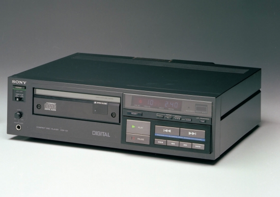 Sony CDP-101 CD-player photo