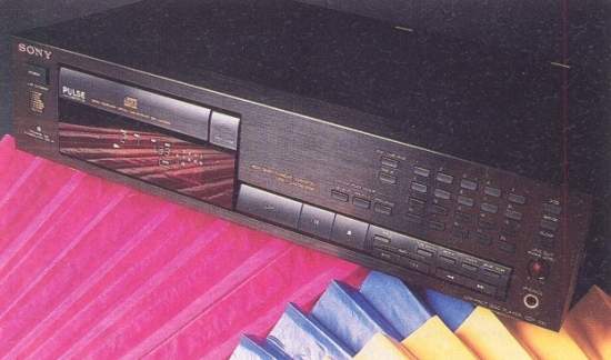 Sony CDP-591 CD-player photo
